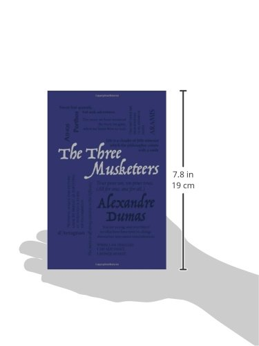 Amazon com the three musketeers word cloud classics 9781626860551 alexandre dumas books