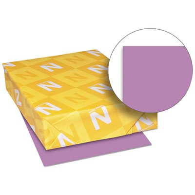 Exact Brights Paper, 8 1/2 x 11, Bright Purple, 50 lb, 500 Sheets/Ream, Sold as 1 Ream, 500 per Ream