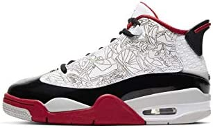 Air Jordan Grade School Dub Zero White//Black-Varsity Red 311047-116 Size 6.5