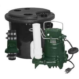 (Zoeller Drain Pump System 131-0001 With M98 Pump, 1/2 HP)