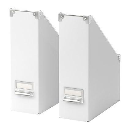 Ikea Kassett - Archivador (2 unidades), color blanco