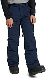 Burton Boys Exile Cargo Pant, Dress Blue New, Medium