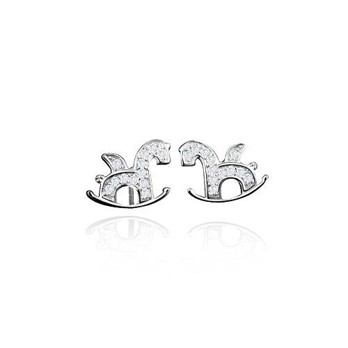 Gifts for Women Sterling Silver Earrings Exquisite&Fancy Design Stud Fashion for (Fancy Dress 1980s Ideas)
