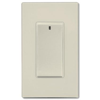 White RF Incandescent Dimmer Legrand-On-Q DRD2W Legrand-OnQ