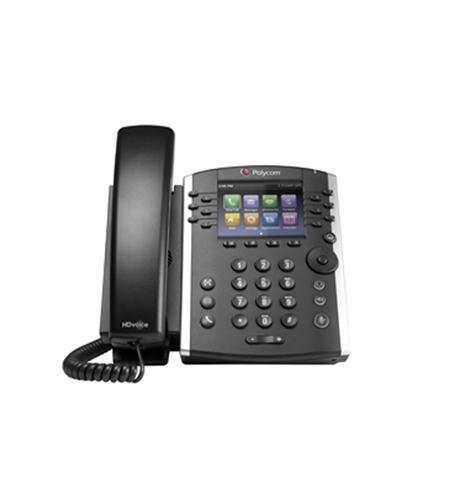 Polycom Inc.-VVX 410 12-Line IP Phone Gigabit PoE (Certified Refurbished)