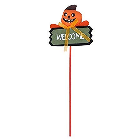 (Che-good Decoration Supplies - Halloween Party Stick Signs Children Household Adornment Pumpkin Ghost Face Magic Home Hallowmas - Kit Bags For Disposable Wedding Cake Decorating)