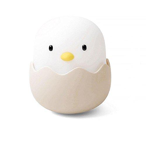 Sonmer Cute Eggshell Chicken Tumbler Cartoon Bedside Nightlight by Sonmer