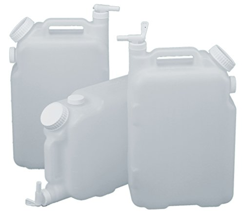 2.5 Gallon EZ Fill Dispensing Carboy with Spigot, Fill, and Vent, 3-Pack ()