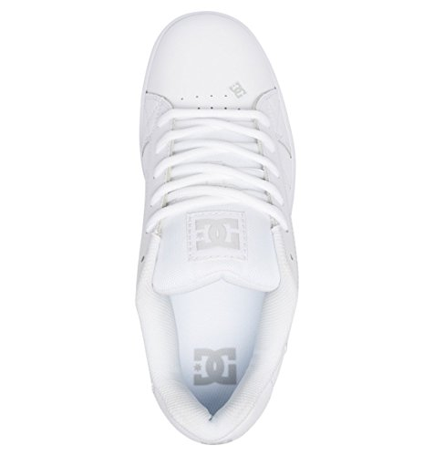 Se White Homme Blanc Apparel Sneakers White Net DC Basses 7Hqfawx