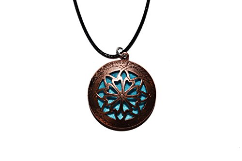 Copper Personal Diffuser Necklace Blue product image