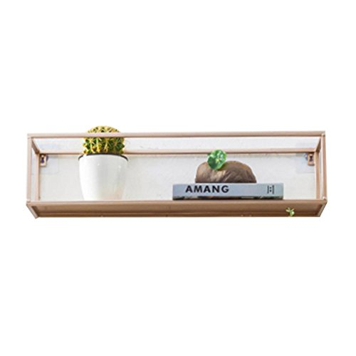 - Wall shelf Partition Do not need to punch Various shapes Lattice wall shelf Corner Shelves (Color : 6516cm)