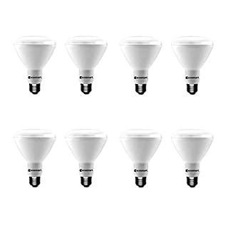 EcoSmart 75W Equivalent Soft White BR30 Dimmable LED Light Bulb (8-Pack)