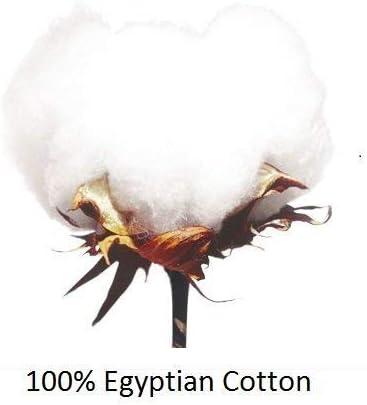 50cm x 75cm dimensioni standard: 50 x 75 cm Comfort Beddings Cotone 400 fili bianco Set di 2 federe in 100/% cotone egiziano Oxford colore: bianco Standard