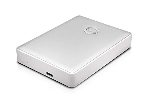 G-Technology 4TB G-DRIVE Mobile USB-C (USB 3.1 Gen 1) Portable External Hard Drive, Silver- 0G10348 by G-Technology (Image #2)