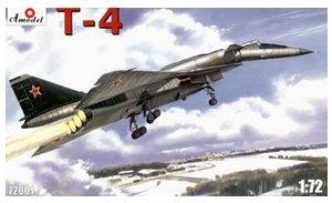 (T-4 (SOTKA) Soviet supersonic strategic bomber 1/72 Amodel 72001)