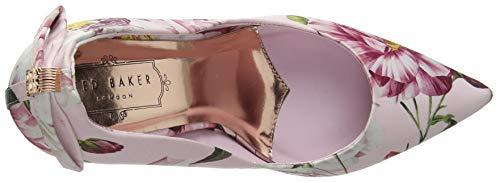 de Cerrada con Iguazu Zapatos Rosa Punta Tacón Ted para Baker Pnk Livlia Ig Pink Mujer qtwZxX0