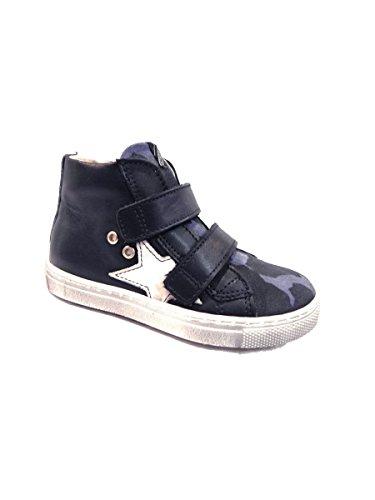 Velcro Alta Blu Euro Mainapps Militare Con Bimbi Sneakers wTfHqPX