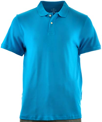 (Men's Egyptian Cotton Polo Shirt (2XL, Turquoise))