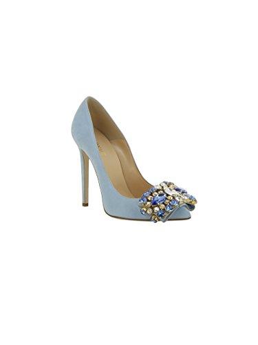 Gedebe celeste celeste para de vestir mujer Zapatos azul azul azul qwaOF