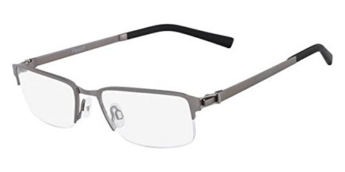 1052 Glasses - Eyeglasses FLEXON E 1052 033 BRUSHED GUNMETAL