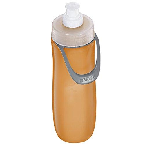 Brita 35663 FBA_35808 Filtration Water Bottles 23oz (20 oz, Orange (Sport))
