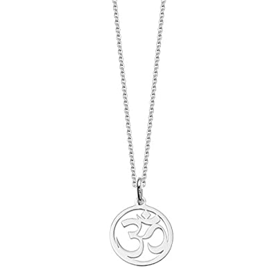 Silver om symbol pendant amazon jewellery silver om symbol pendant aloadofball Gallery