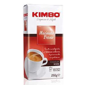 Kimbo Macinato Fresco 4 buste da 250g Imported from Italy by KIMBO