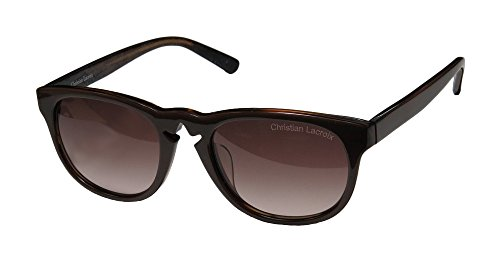 christian-lacroix-7003-womens-ladies-wayfarer-full-rim-sunglasses-sun-glasses-52-20-0-brown