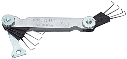 Amazon wright tool 9531 wire gap gauge home improvement wright tool 9531 wire gap gauge greentooth Gallery