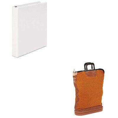 KITPMC04645UNV20962 - Value Kit - Pm Company Regulation Post Office Security Mail Bag (PMC04645) and Universal Round Ring Economy Vinyl View Binder (UNV20962) ()