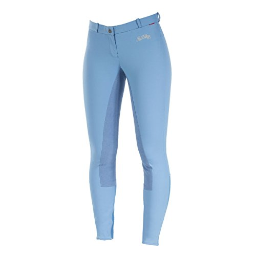 B Vertigo Lauren Women's Full Seat Breeches - Provence blue size: 40