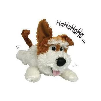 Chuckle Buddies - Motion Activated Rolling Laughing Dog Puppy