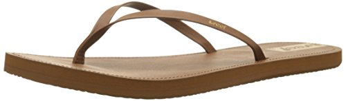 Reef Downtown, Sandalias Flip-Flop para Mujer Marrón (Brown)