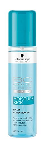 Schwarzkopf BC Moisture Kick Spray Conditioner (For Normal to Dry Hair) 200ml/6.8oz