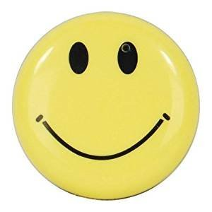 (Safety Technology HC-SMILE-DVR Mini Clip On Smiley Face Button Spy Hidden Camera with Built in DVR)