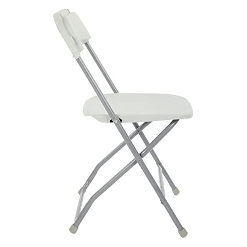 Office Star Table And Chair Set, Light Grey