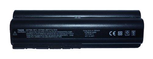 Thor Brand Replacement 12 Cell 10.8v 8800mah Battery Pack for Hp Pavilion Pc Laptop Computer Dv4-1014nr Dv4-1028us Dv4-1114nr Dv4-1117ca Dv4-1117nr Dv4-1118ca Dv4-1120us Dv4-1121ca Dv4-1124nr Dv4-1125nr Dv4-1140go Dv4-1143go