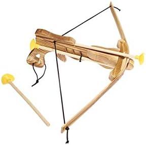 Juguetutto - Ballesta Flechas Ventosa - Juguete de Madera