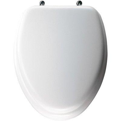 KOHLER K-4671-C-7 Lustra Elongated Toilet Seat, Black Black 85%OFF
