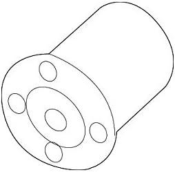 Kia 54551-A4000 Suspension Control Arm Bushing