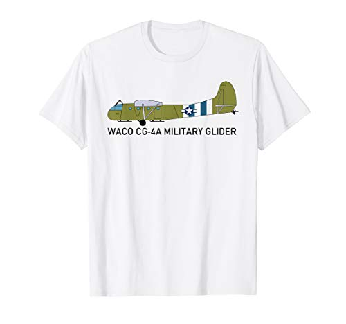 (Waco CG-4A American Military Glider WWII Plane T Shirt)