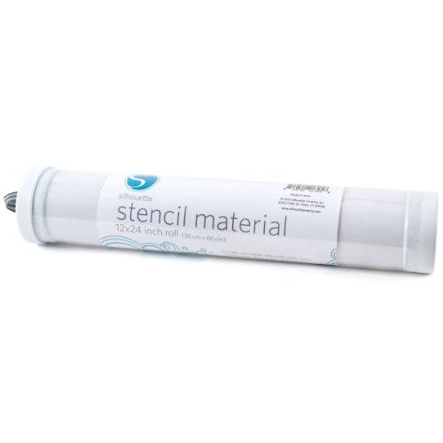 Silhouette Of America MEDIA-STENCIL-3T Adhesive Back Stencil Material,