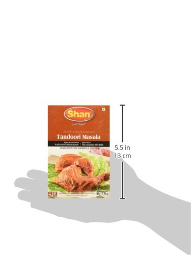 Amazon.com : Shan Tandoori Chicken BBQ Mix 1.75 Oz (Pack of 4) : Indian Food : Grocery & Gourmet Food