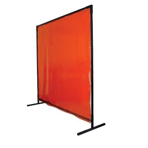 Revco 6X6VF1-ORA Saf-Vu Welding Screen With Frame by Revco