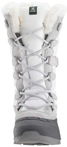 Neige Snovalley2 de Kamik Wht Bottes White blanc Femme Blanc qTRw1Z6W4