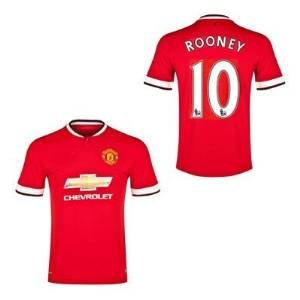#10 ROONEY Manchester United Home Kid Soccer Jersey & Matching Short Set - Size:YXL (for 9-12 years of age)