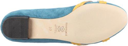 j4 1123 Bleu Venedig femme Ballerines 15 Fersengold 73 tr 0awvg