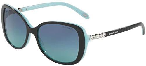 Tiffany TF4121B 80559S Black/Blue TF4121B Butterfly Sunglasses Lens -