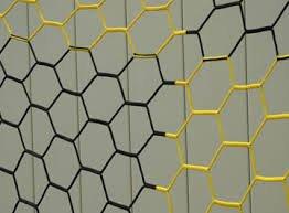 Net Soccer Hexagonal (All Goals 4mm braided Hexagonal Soccer Nets)