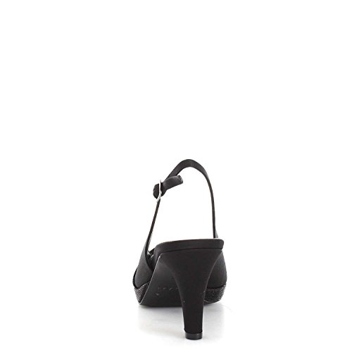 MELLUSO - Sandalias de vestir para mujer negro negro negro
